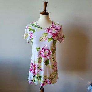 Reformation Womens Floral Print Top